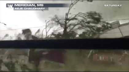 Must See Video: Tornado Rips Through Mississippi