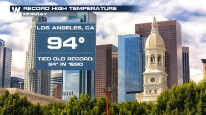Record Heat Expands Midweek