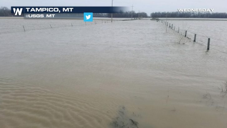 Melting Snow Leads to Spring Flooding