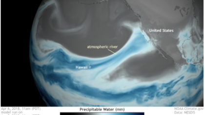 Atmospheric Rivers Drive Western U.S. Flood Damages