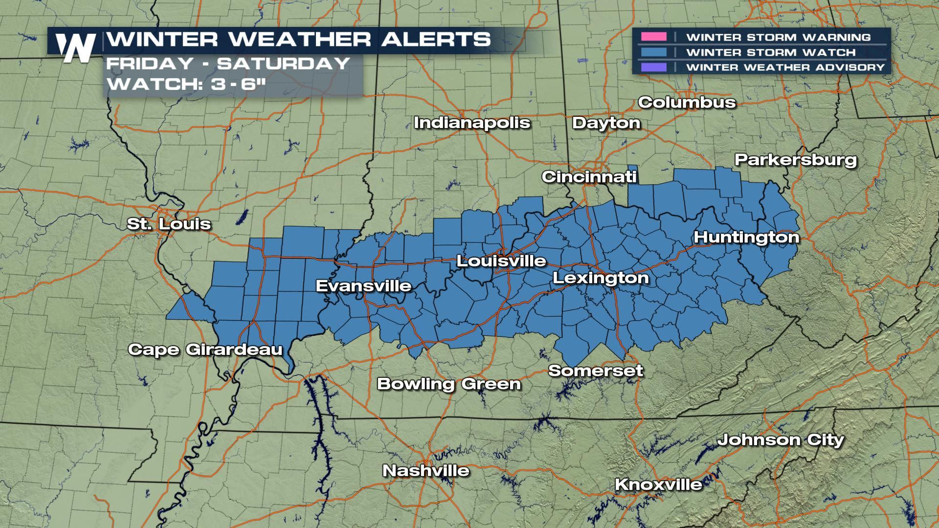 Ohio River Valley Weekend Snow Threat Weathernation