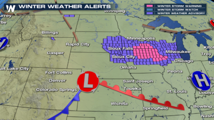 Upper Midwest Forecast Update - Heavy Snow and Some Ice Ahead