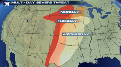 Severe Thunderstorms Likely to Start This Week in the Plains