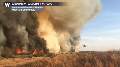 Rain in the Forecast for Oklahoma Fires