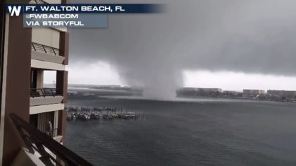 Waterspout or Tornado Over Water? The NWS Weighs In...