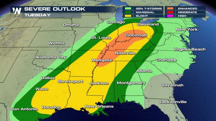 Severe Weather Threat Returns Tuesday