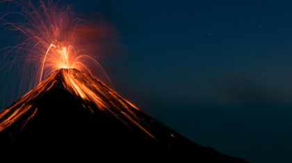 Study Suggests Ample Warning of Supervolcano Eruptions