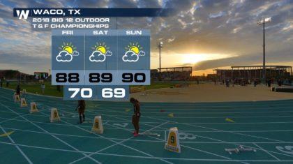 Track and Field Fans? Here's Your Forecast