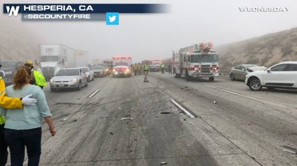 Dense Fog Leads to Mutli-Vehicle Accident in California