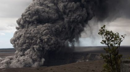 Kilauea Eruptions: The Way the Wind Blows, so go the Ash and the Gas