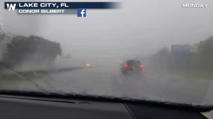Flooding Concerns in the Southeast with Heavy Rain from Alberto