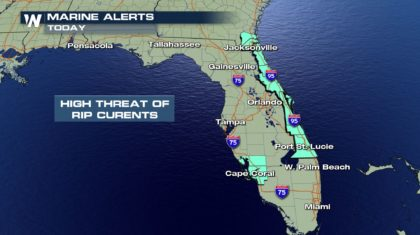 Dangerous Rip Currents Again This Sunday