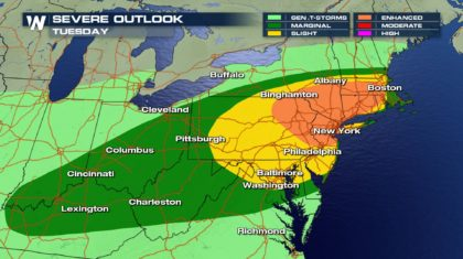 More Severe Storms for the Northeast