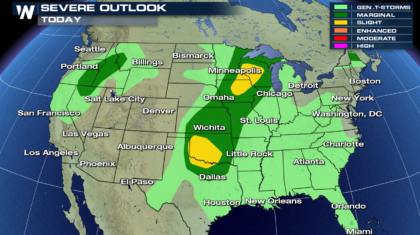Severe Weather Risk Heading into the Memorial Day Weekend
