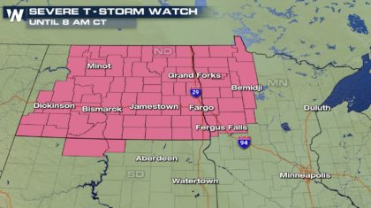 Severe Storms Continue Overnight for Some