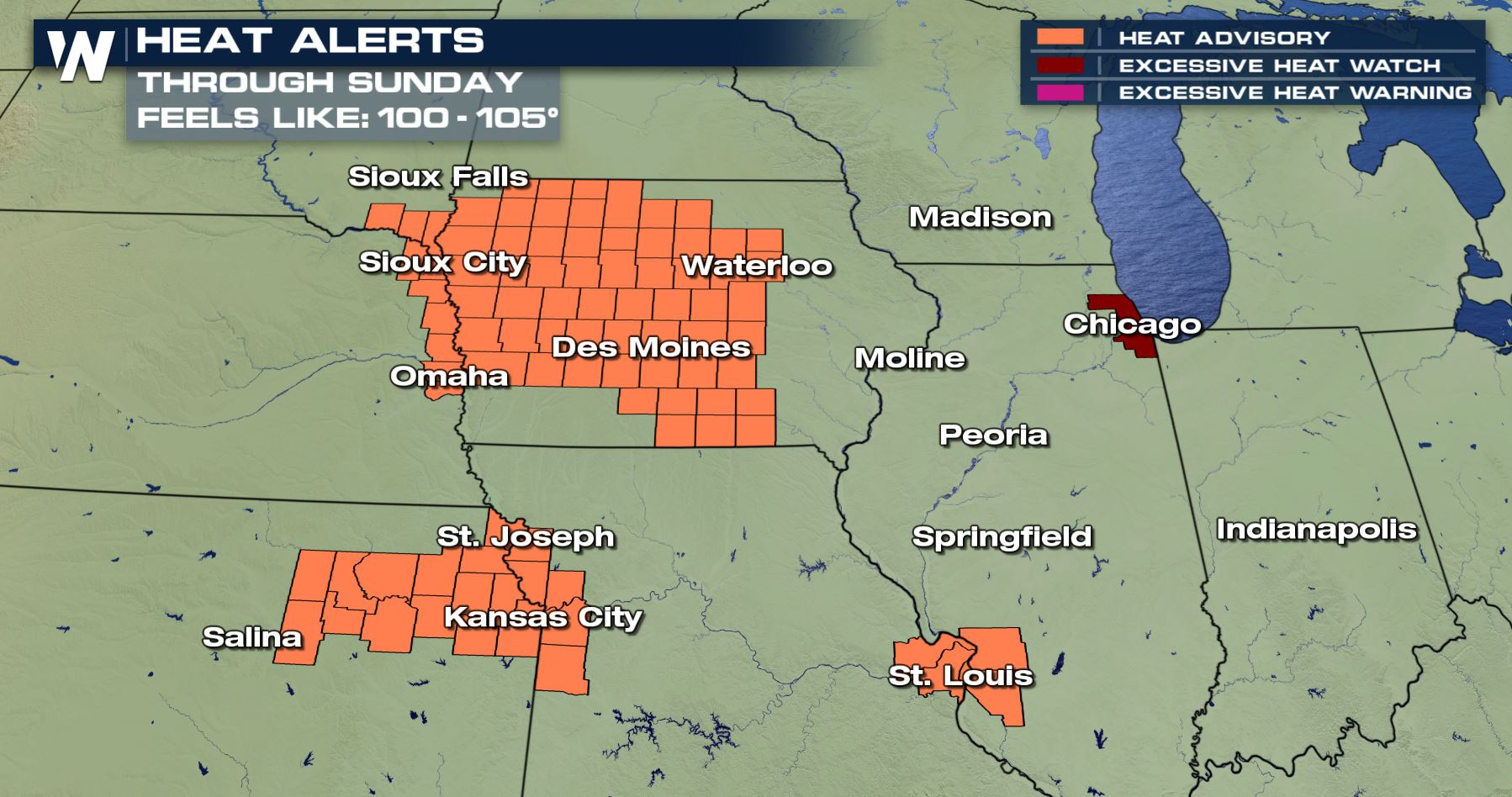 The Midwest Bakes in Dangerous Heat