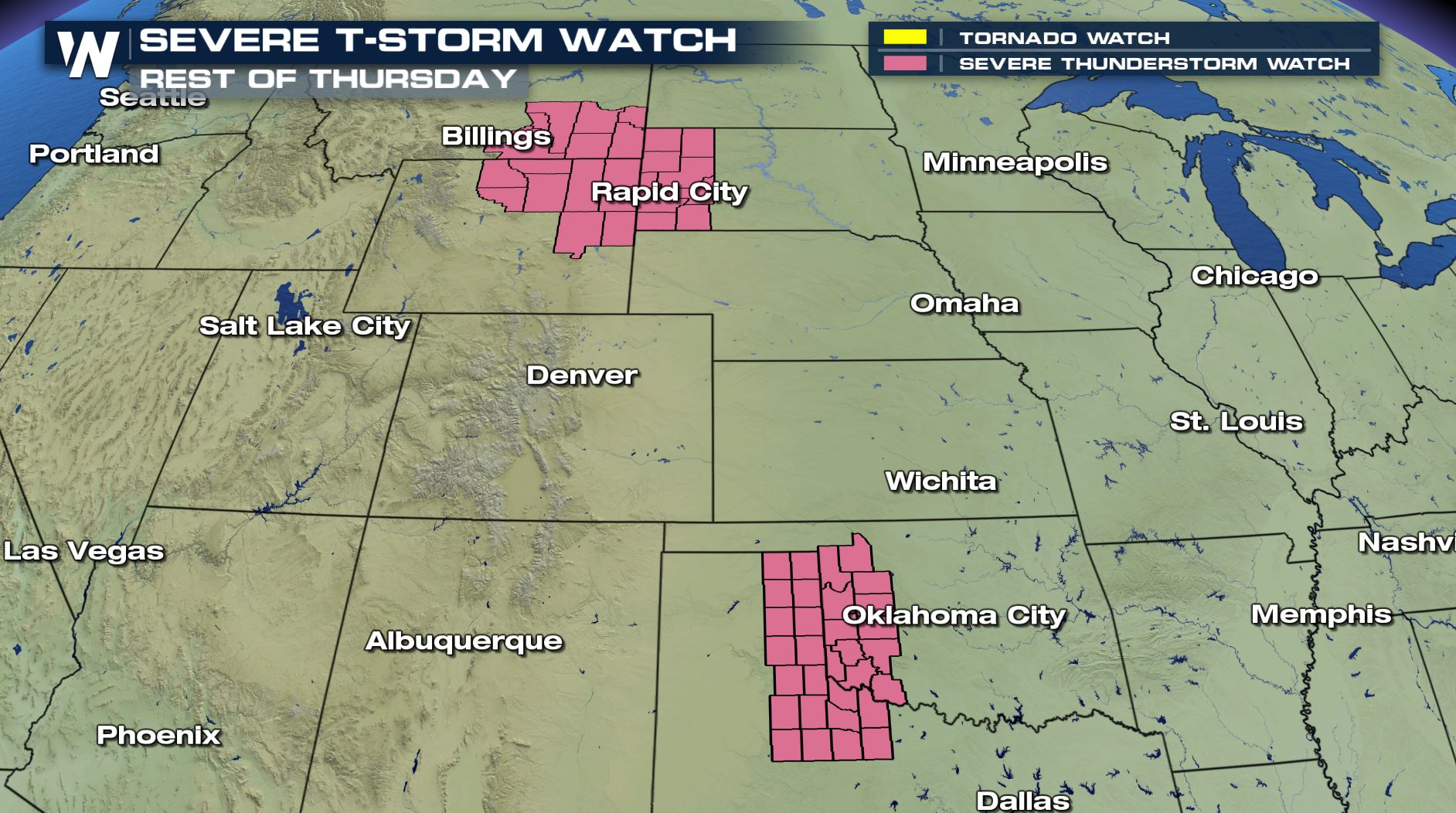 Severe Update: Watch Boxes Issued for Several States