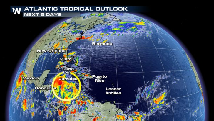 Tropical Development in the Caribbean This Week?