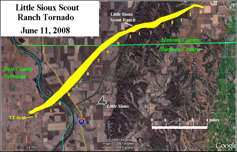 10 Year Anniversary of the Little Sioux Scout Ranch Tornado