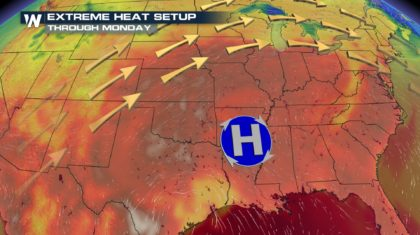 Record Heat for the East