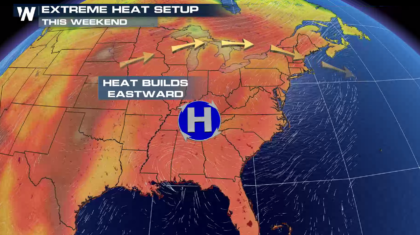 Sweltering Heat for the Plains, Great Lakes, and Northeast