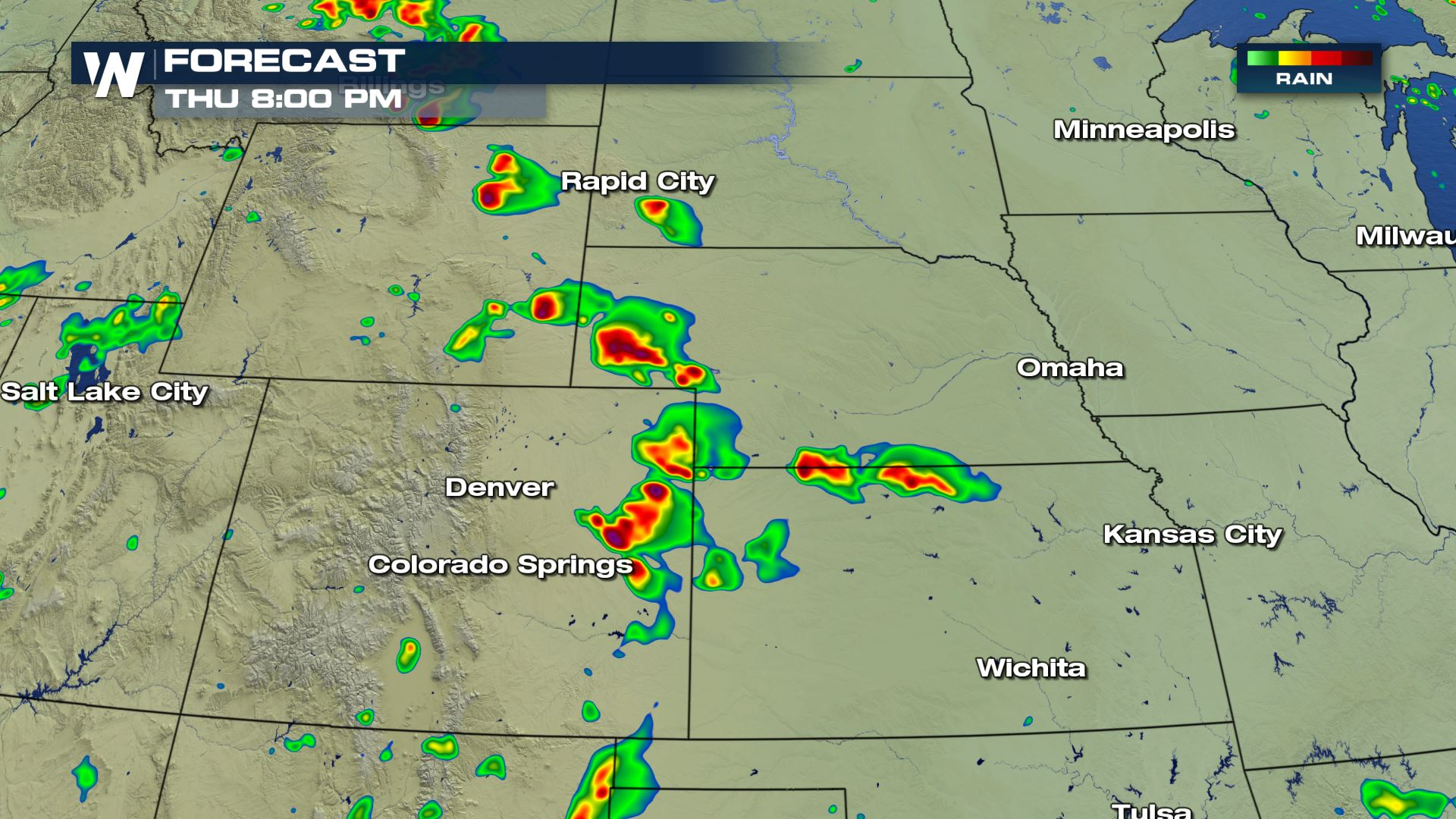 More Storms to Come for Rockies and Central U S  - WeatherNation