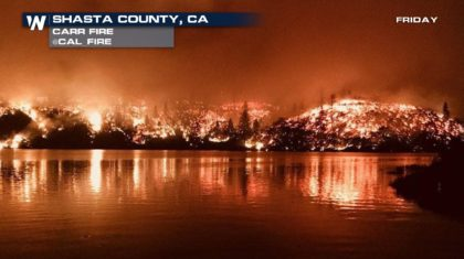 Carr Fire Rages on in California