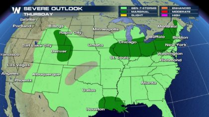 Thursday Severe Weather Update