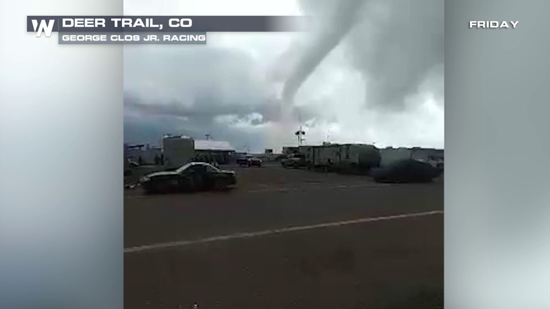 Caught on Camera: Tornadoes hit Multiple Areas in Colorado