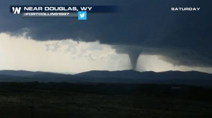 Long-Lived Tornado in Eastern Wyoming Saturday