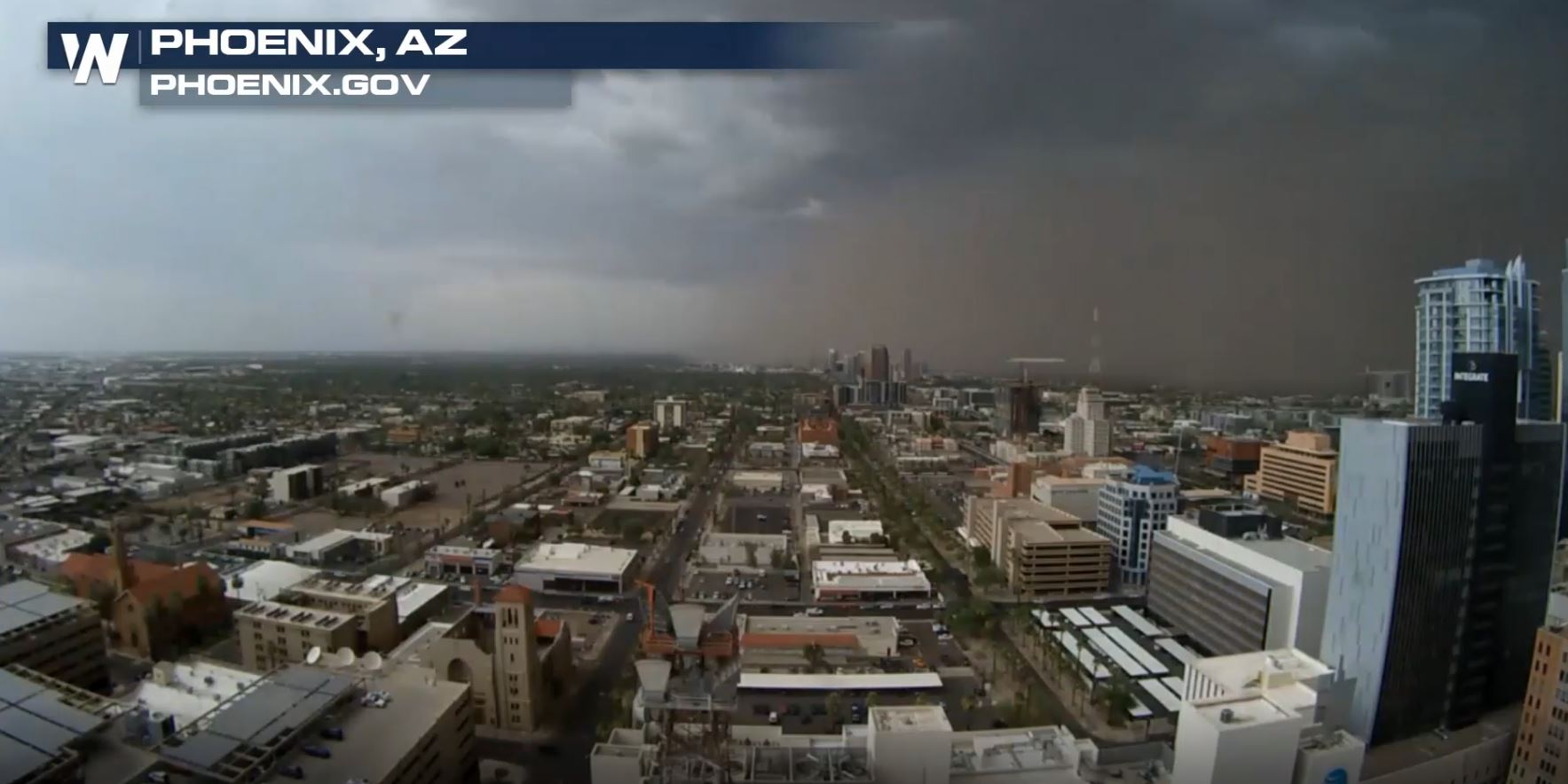 Monday's Dust Storm in Arizona Lasted for 200 Miles