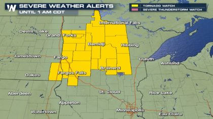 Severe Storms With Flooding to Move Through Upper Midwest