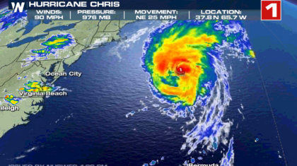 Hurricane Chris Strengthens and Picks up Speed