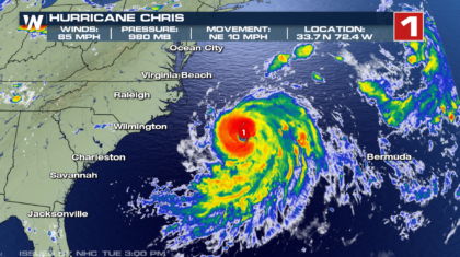 Hurricane Chris Officially Forms in the Atlantic
