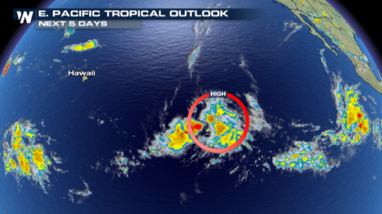 New Tropical System Developing in Eastern Pacific?