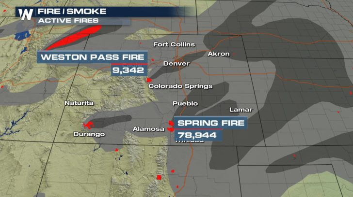 Sugar Fire Continues To Grow Weathernation