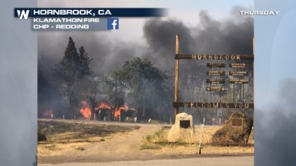 One Fatality in Northern California Fire