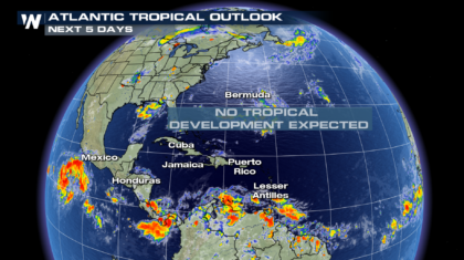 Quiet Start to July in Tropical Atlantic