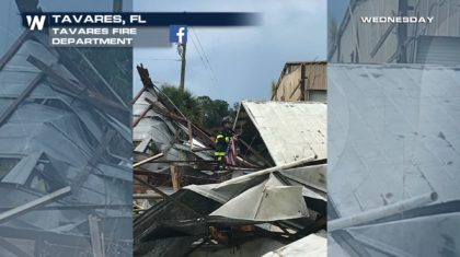 Weak Florida Tornado on Wednesday