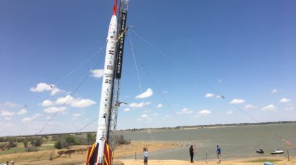 Rocket Soars To Celebrate STEM Program Anniversary