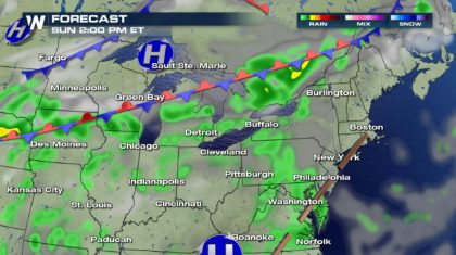 Sunshine or Rain for Labor Day Weekend?