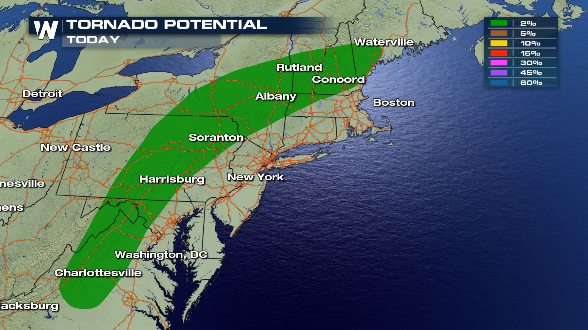 Severe Storms for Northeast and Midwest Friday - WeatherNation