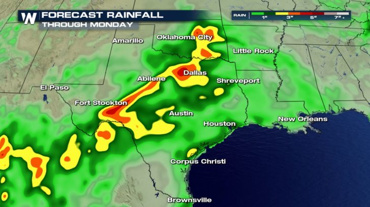 Relief to Come for Drought Stricken Texas, Flooding Concern