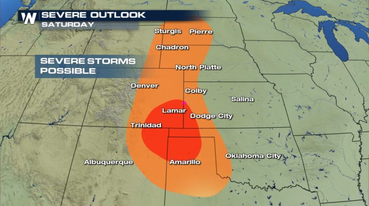 Severe Storm Chances, More Hail Likely for the Rockies