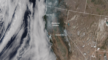 New Model Forecast Product Predicts Wildfire Smoke