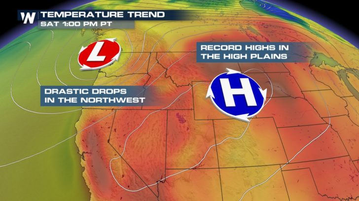 Record Heat Heads for the High Plains and Mid-West