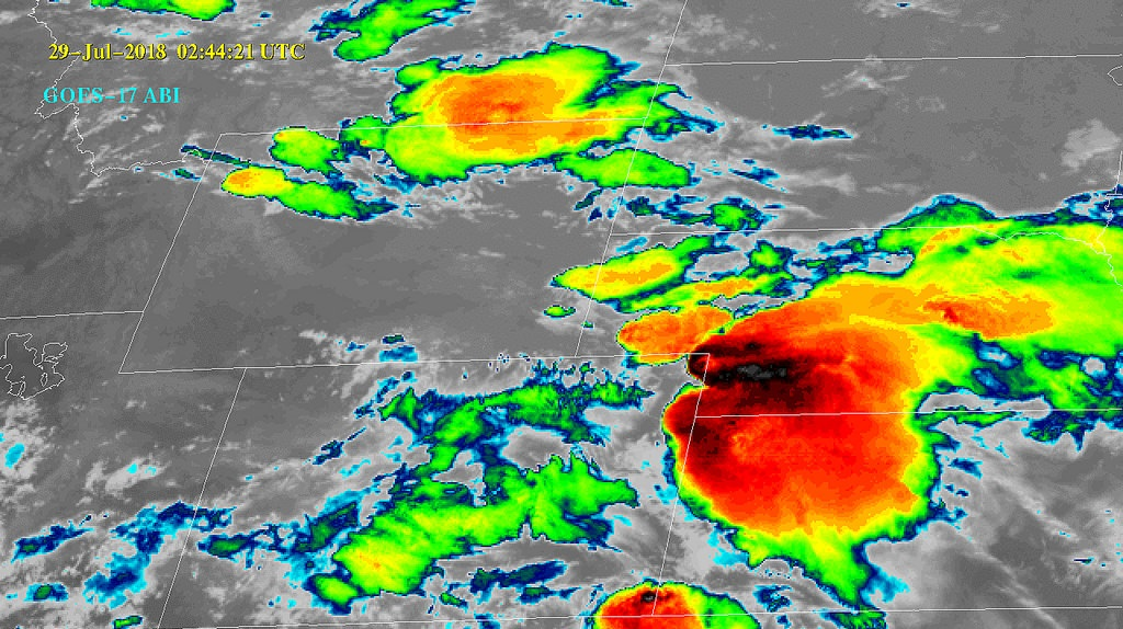 NOAA Shares First Infrared Imagery from GOES-17 Satellite