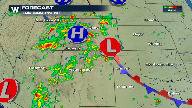 Severe Storms Possible for Southwest