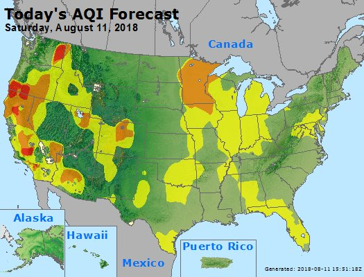 Air Quality Concerns For Entire State Of Minnesota Weathernation
