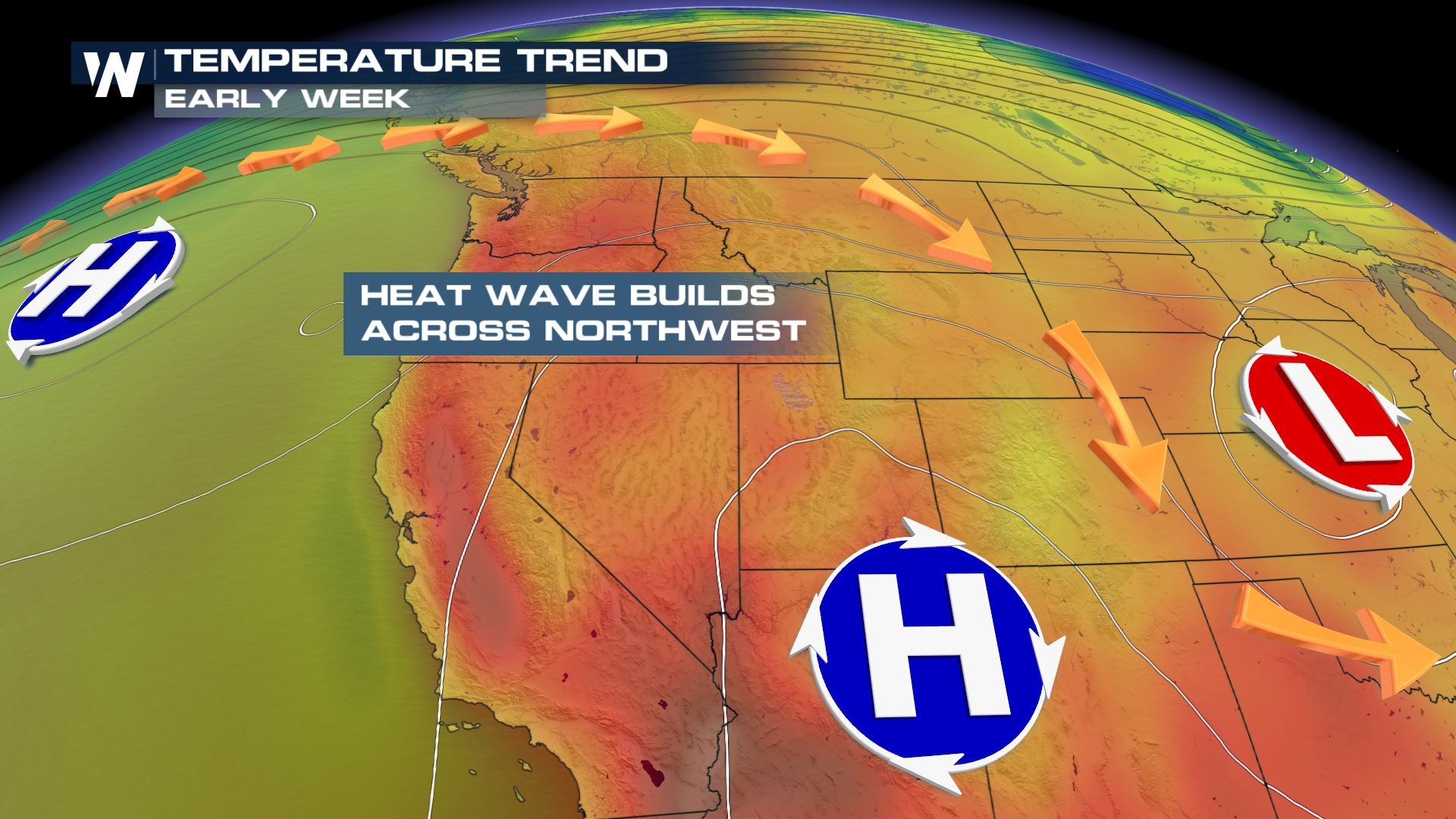 Heat Wave Returns to Northwest